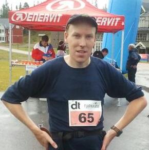 Målgång Sälen Fjällmaraton