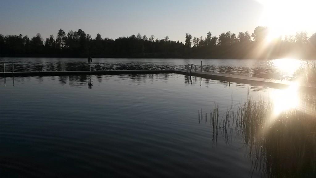 Bad i Stävresjön