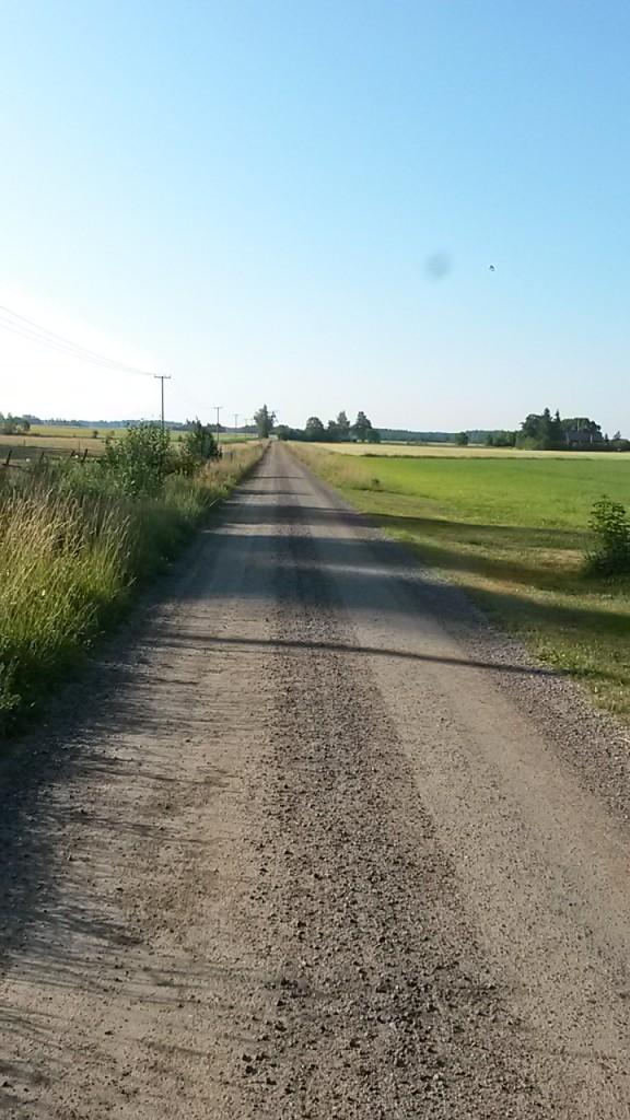 Raka vägen hem