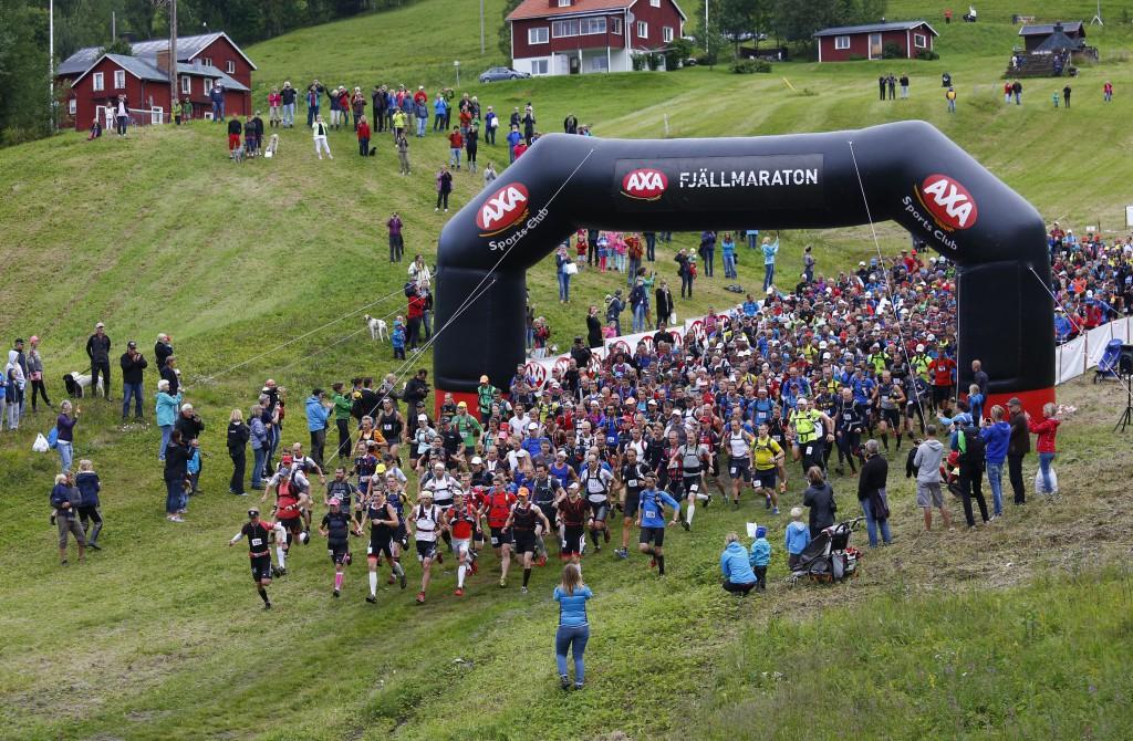 Starten i Edsåsdalen 2013