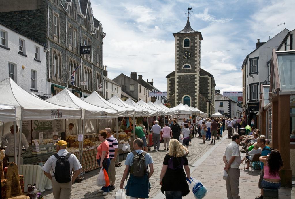 En marknadsdag i Keswick