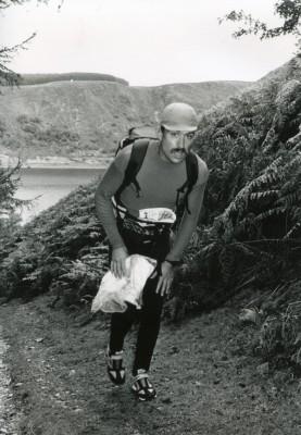 Den svenske ultralöparen Rune Larson var med redan 1992