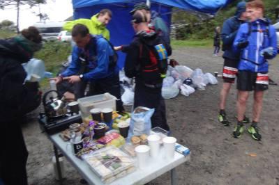 Andra matstationen vid Wythburn Car Park