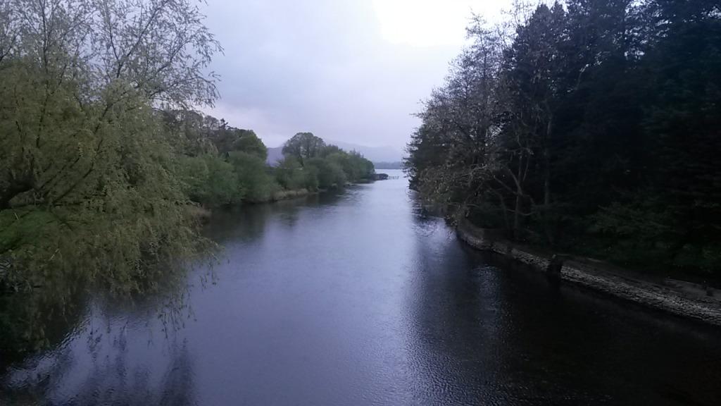 Några bilder från Pooley Bridge på morgonjoggen dagen efter.