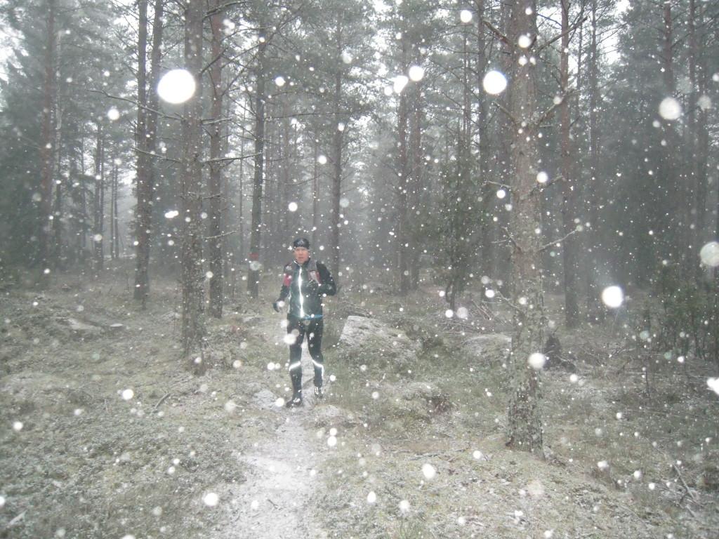 Tilltagande snöfall