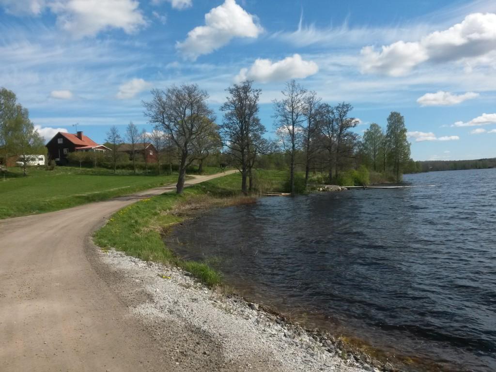Ivarsbyn var en av byaarna man passerade efter Storsjön