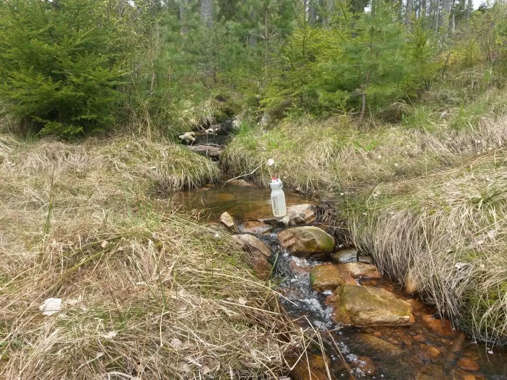 Vattentillgången var för det mesta god och flera bäckar passerades med jämna mellanrum.