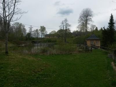 Miljön i närheten av Baggå Herrgård.