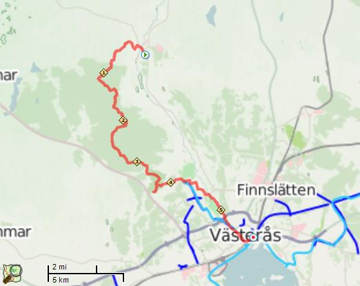 Bruksleden Skultuna- Västerås 2015-05-30