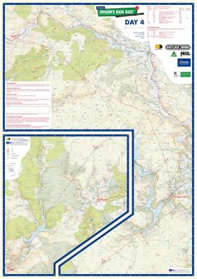 Karta och vägval Dag 4